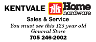 Kentvale Advertisement